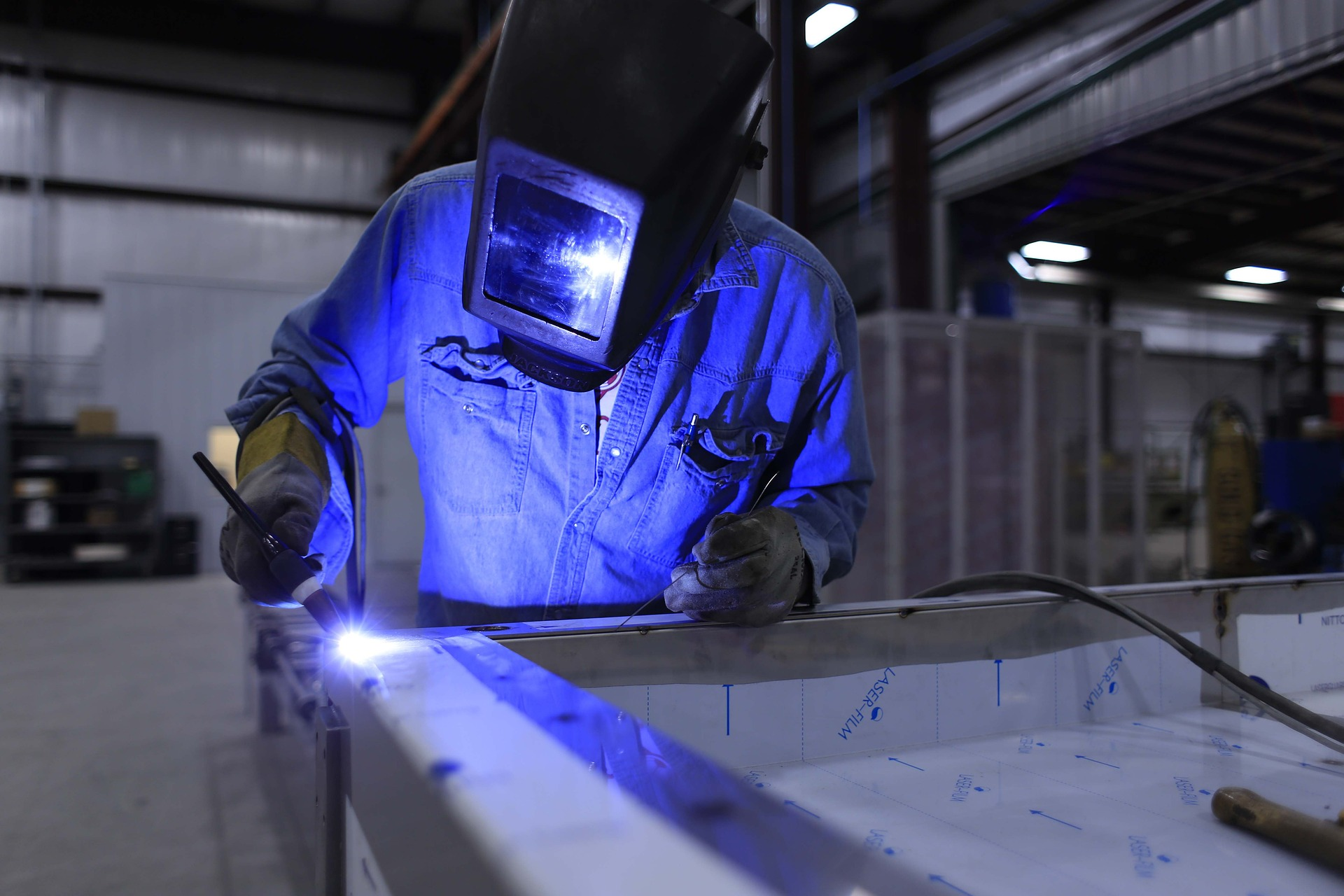 American Welder in Action