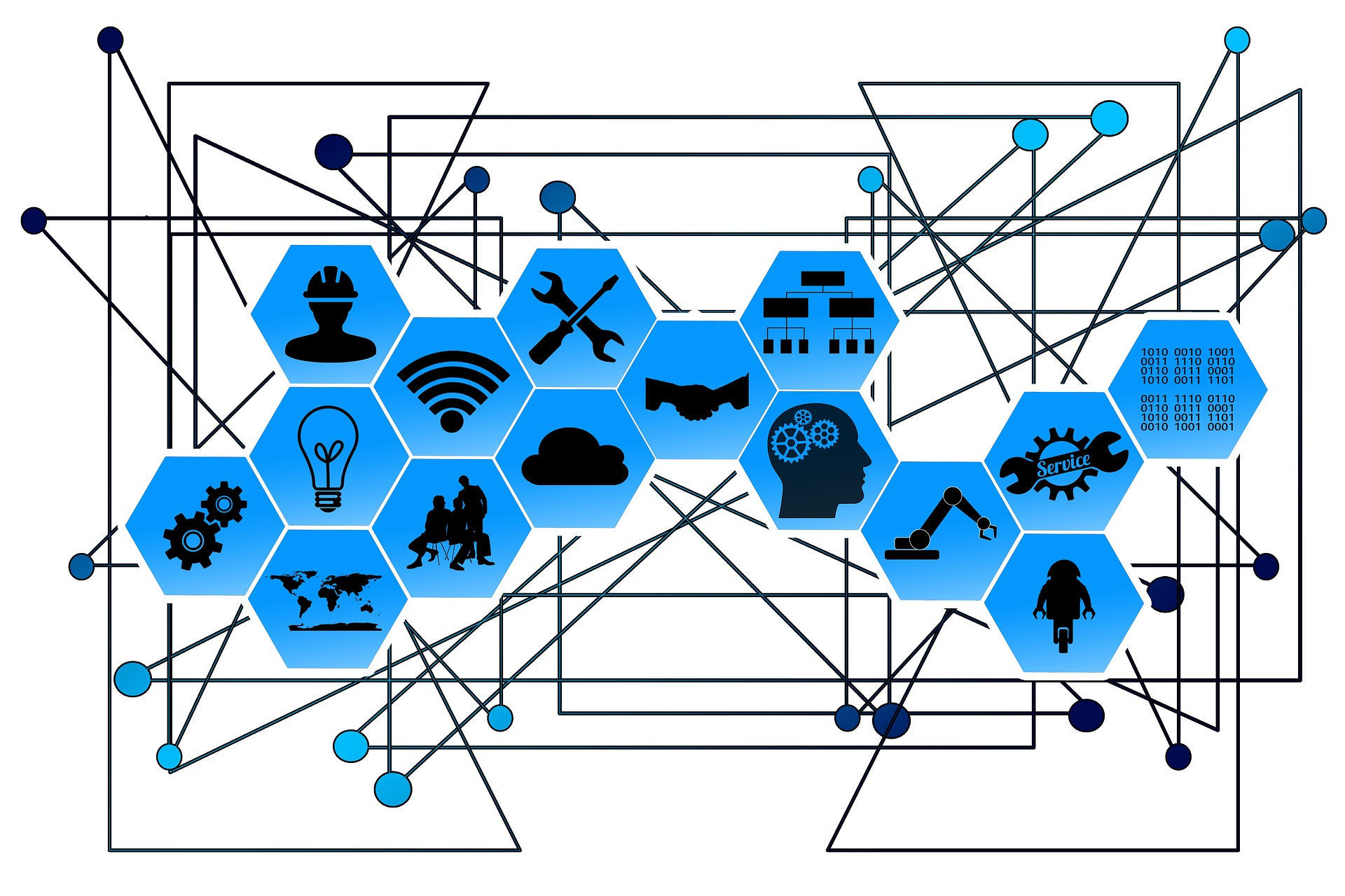 The Internet of Things Illustration